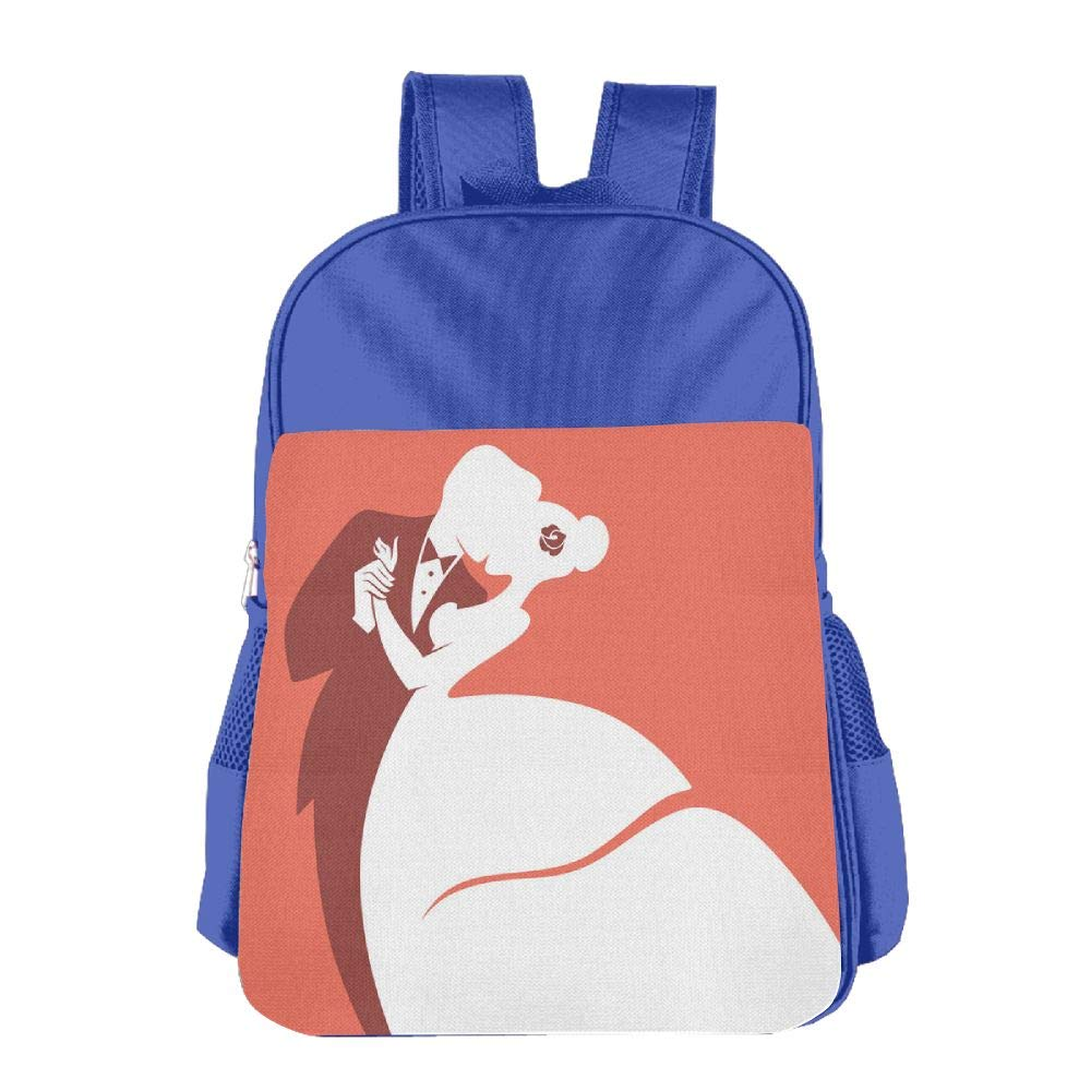 Romantic Wedding Kid's Backpack For Trousers2 Storefront