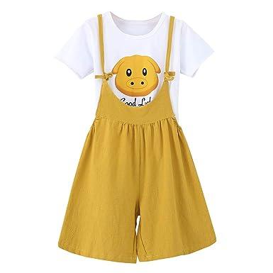 erthome - Conjunto de Camiseta y Conjunto de jarrones para niños ...