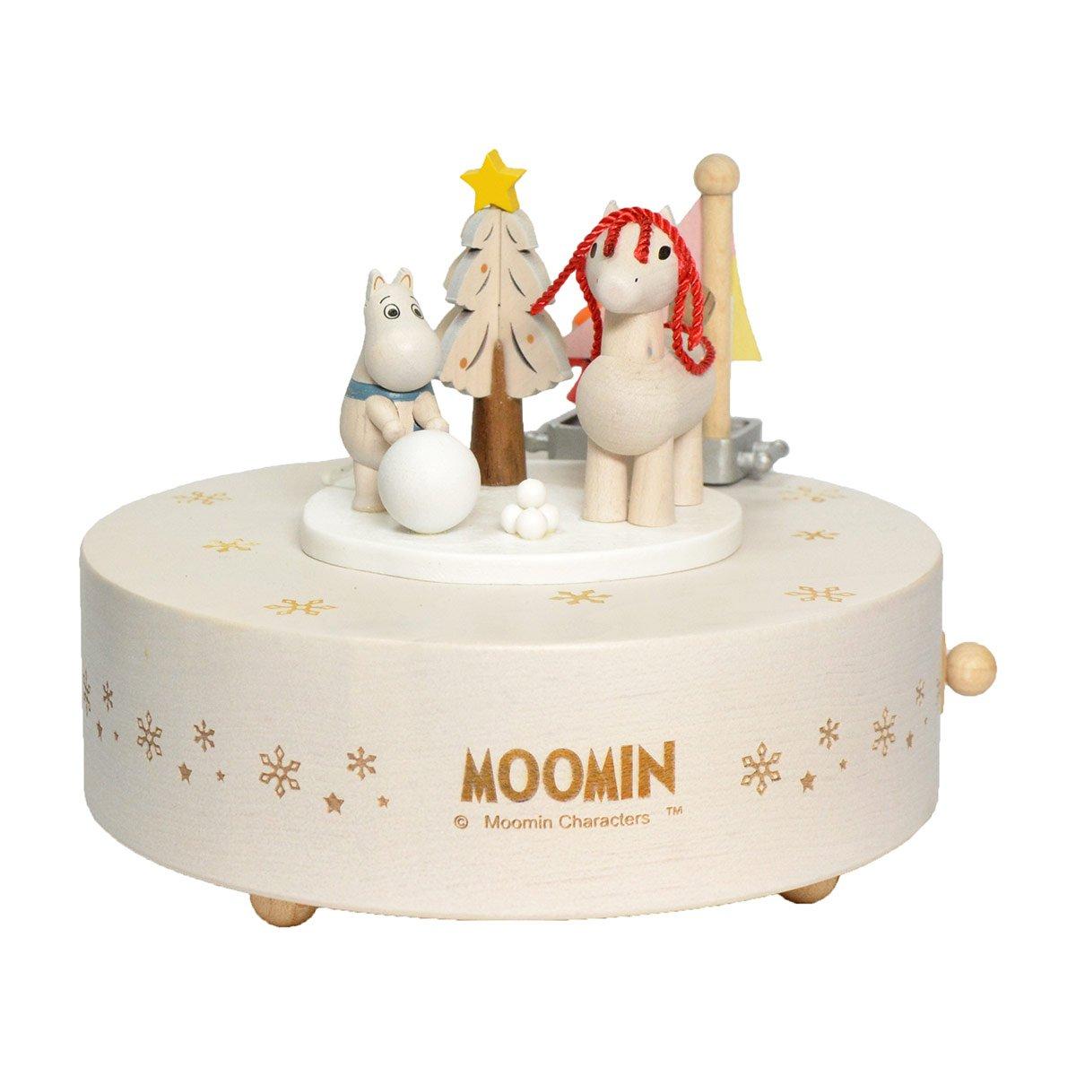【超安い】 Moomin ムーミン Music box box Winter オルゴール ( ムーミン Moomin's Winter ムーミンウィンター ) B077QLNNH4, ビーキューブ:53c8fb8e --- svecha37.ru