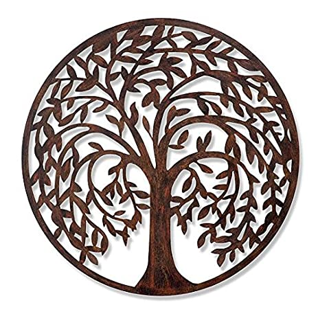 Amazon.com: Tree of Life Metal Wall Decor - 28\