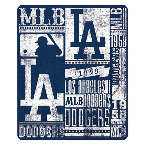 (Los Angeles Dodgers 50x60 Fleece Blanket - Strength Design)
