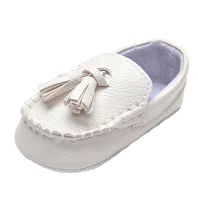 5ab3cb7c98bd47 MK Matt Keely Bébé Filles PU Baskets Sneakers Bambin Gland Mocassins  Chaussures