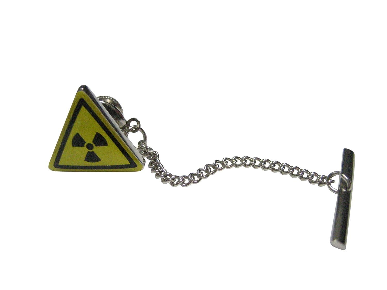 Kiola Designs Radioactive Warning Sign Tie Tack
