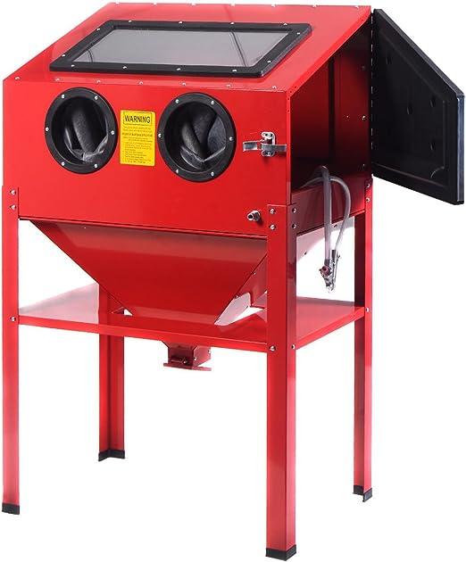 Cabina chorreadora de arena 220 litros Gabina arenadora para chorreo