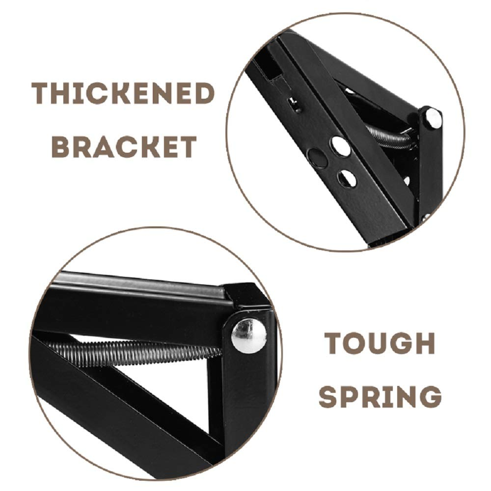 space saving DIY bracket heavy duty stainless steel foldable shelf bracket for workbench Folding shelf bracket 8