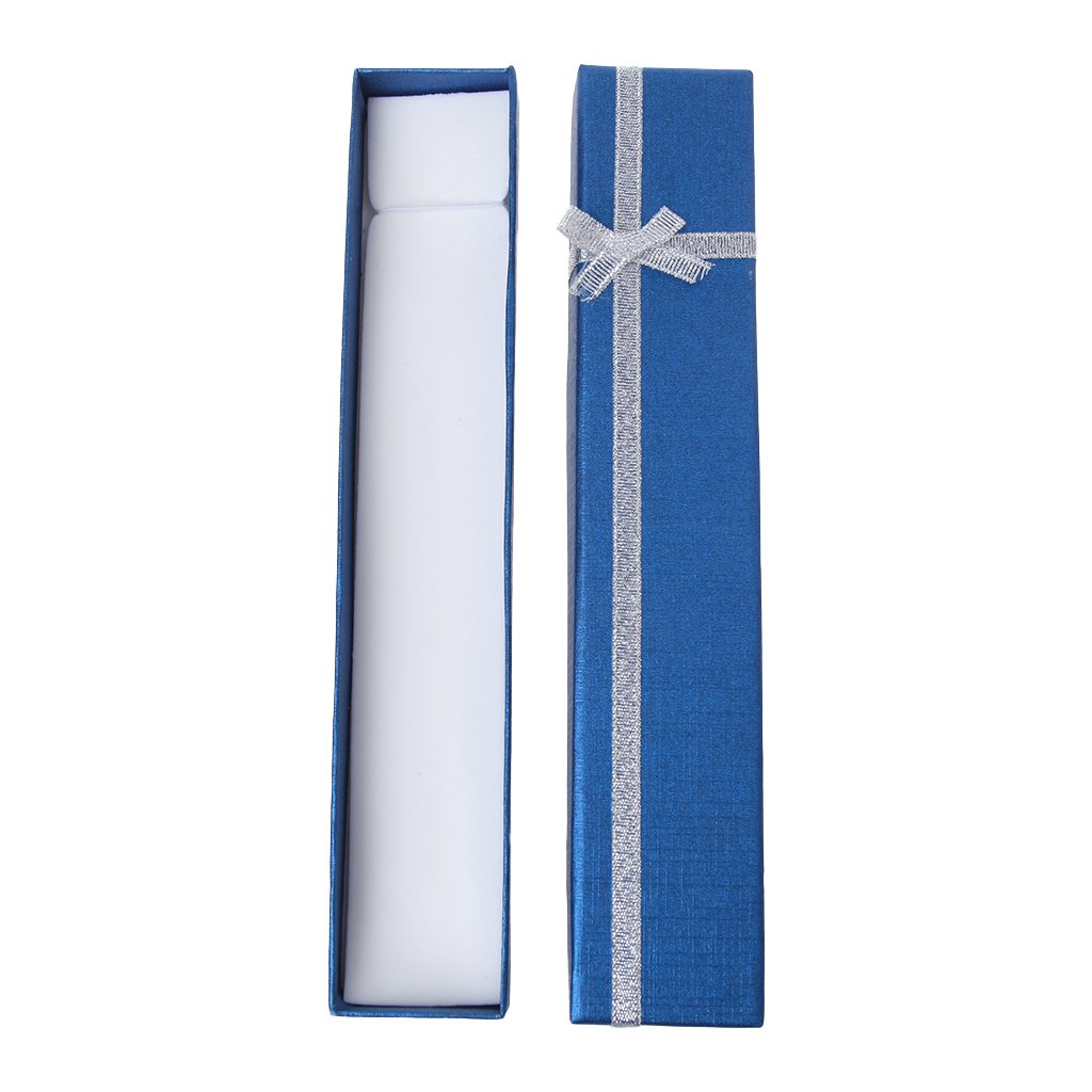 Forgun Hand Fan Packing Box for Anniversary Birthday High End Colorful Gift Packing Box (Deep Blue) by Forgun (Image #3)