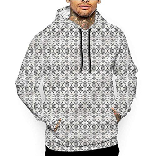 (Hoodies SweatshirtMen 3D Print Detroit,Woodward Avenue Urban,Sweatshirts for Women Hoodie)