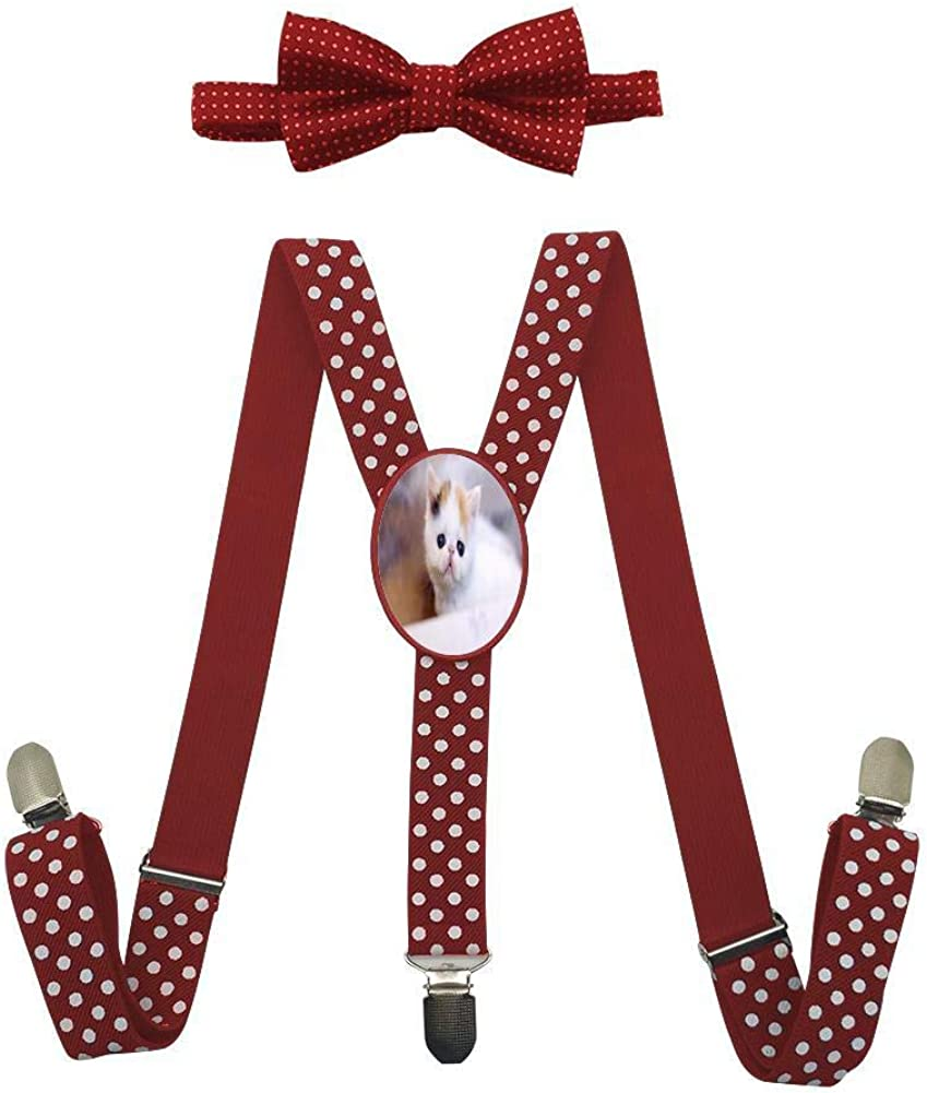 A White Cat Childrens Fashion Adjustable Y-Type Suspension Belt Suit