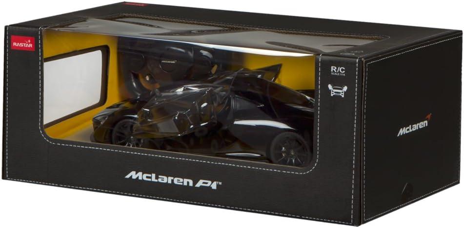 rastar McLaren P1 Voiture t/él/écommand/ée /à Portes Papillon 1:14 Noir