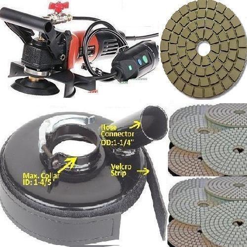 Wet Variable Speed Polisher Dustless Technologies 5