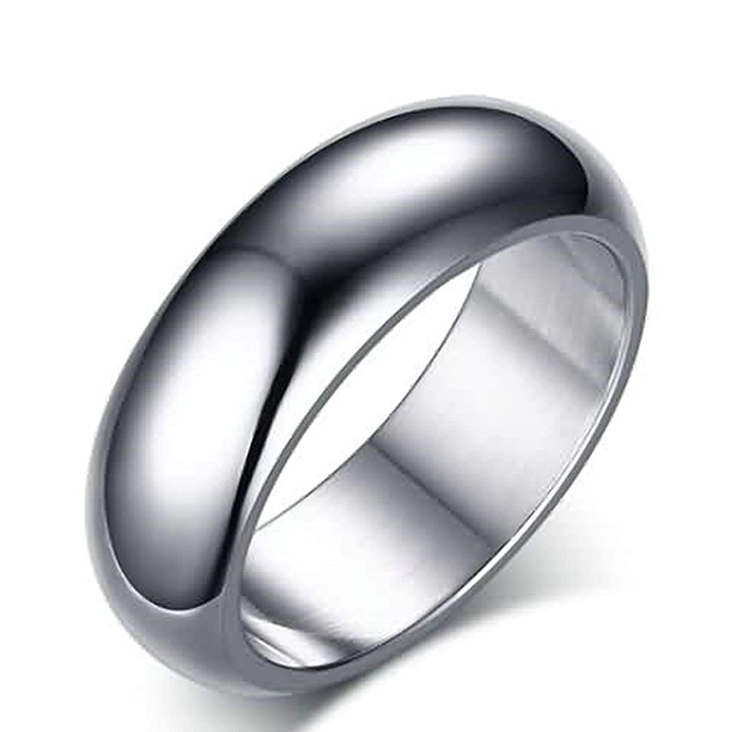 Epinki Ring Engagement Band Jewelry Stainless Steel Rings for Men Promise Ring High Polished Ring