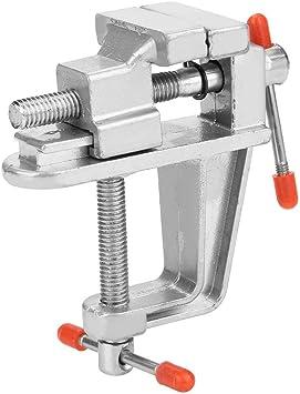 Mini mesa Tornillo de banco aluminio aleación duradero ligero para ...