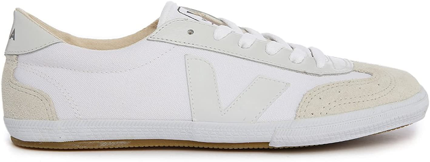 arco pasado Inútil  VEJA - Sneakers - Men - Volley White Canvas Sneakers for men - 40:  Amazon.co.uk: Shoes & Bags