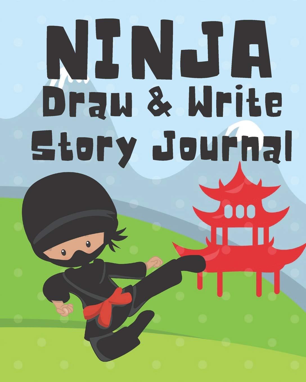 Ninja Draw and Write Story Journal: Kids Creative Writing ...