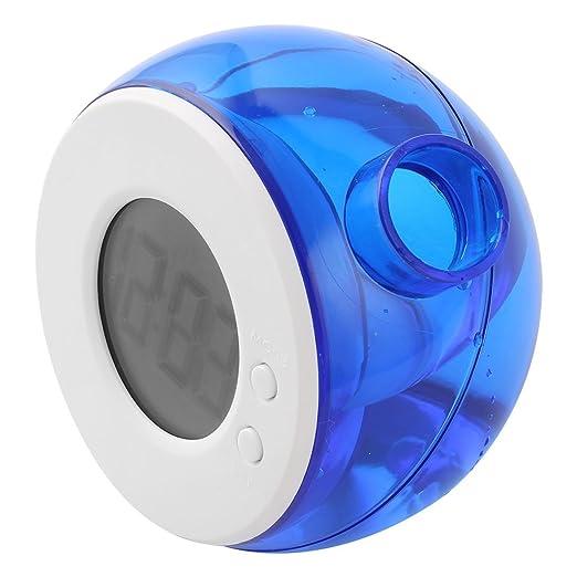 Amazon.com: DealMux Proteção Ambiental água alimentado termômetro diário Relógio Despertador: Home & Kitchen