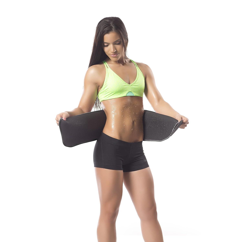 www.sweatsweet.com teen pic Amazon.com : Sweet Sweat Premium Waist Trimmer, for Men & Women. Includes  Free Sample of Sweet Sweat Workout Enhancer! : Sports & Outdoors