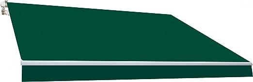 SmartSun Classic Toldo Completo 3x2m Color Verde Lona poliéster. Toldo terraza, jardín, Balcon: Amazon.es: Jardín