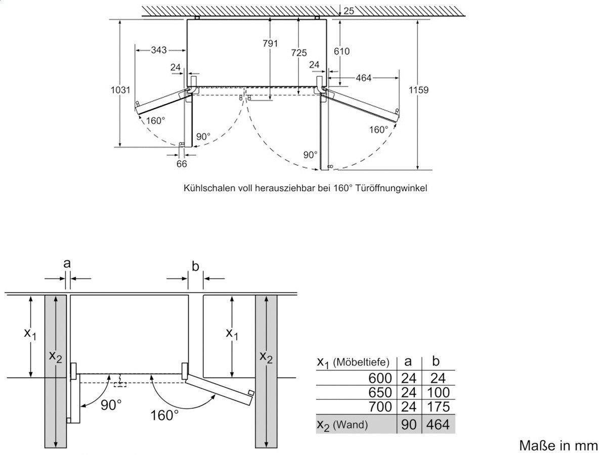 Siemens KA62DV71 - Frigorífico Side By Side Ka62Dv71 Con Dispensador De Agua Y Hielo: Amazon.es: Hogar