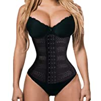 SEXYWG Waist Trainer Corset Tummy Control Shapewear Cincher Back Support Girdle