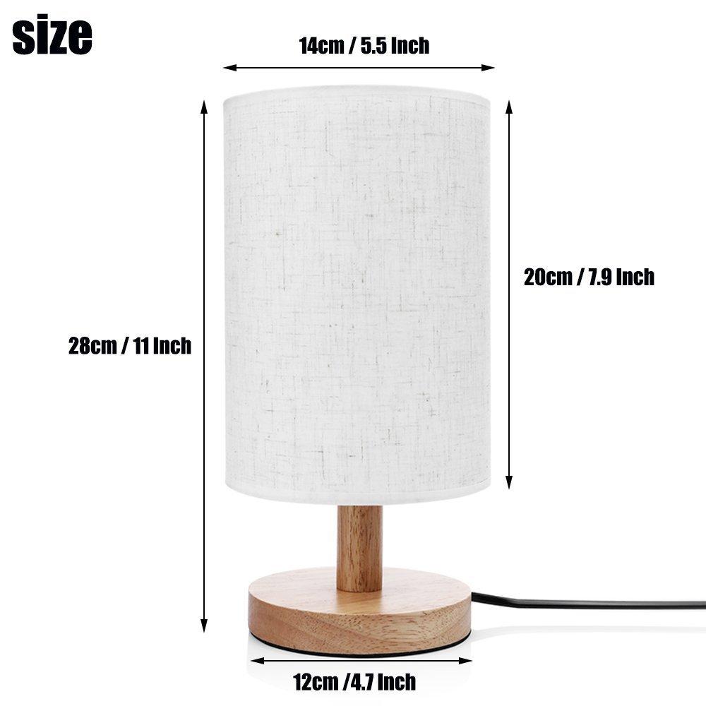 ArtLights - Wood Base Decoration Desk / Table / Bedside Lamp [ Forest Animals ] by ArtLights (Image #3)