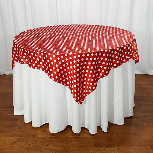 (American Home Design Red and White Polka Dot 60