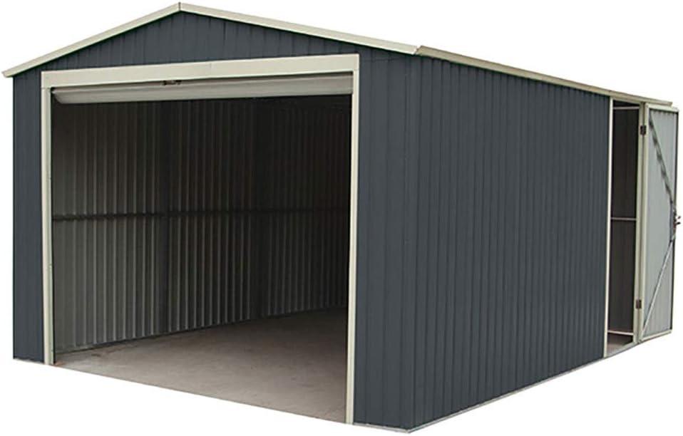 Garaje Metálico Gardiun Essex (Gris Oscuro) 19, 52 m² Ext: Amazon.es: Jardín