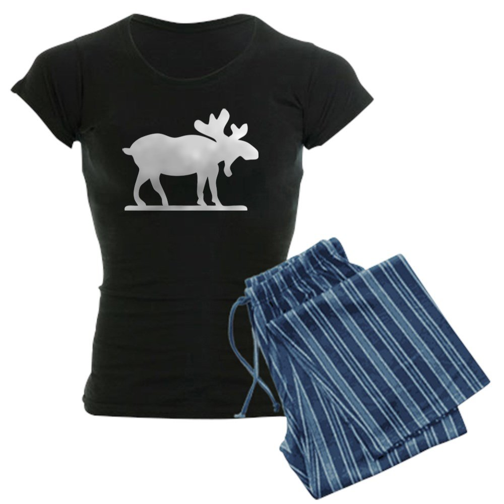 CafePress - Moose Silhouette - Womens Pajama Set