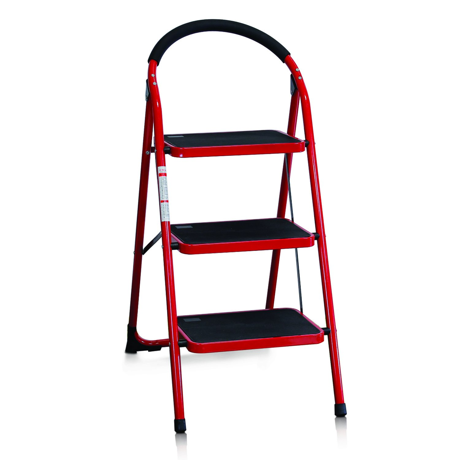 Amazon FURINNO FNBJ 1 Heavy Duty 3 Step Ladder Kitchen