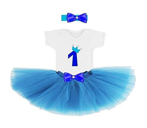 Conjunto primer cumpleaños 1 año para bebes niñas (body o ...
