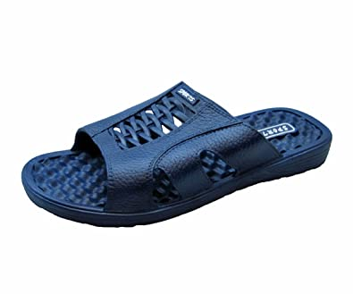 5fd58748ed Amazon.com   Fashion Blue Comfortable Sports Waterproof Slides Sandals for  Men   Sport Sandals & Slides