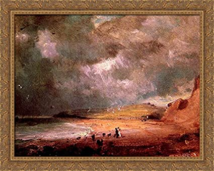 Weymouth Bay Landscape Picture by Constable Canvas or Fine Art Poster Print NEW