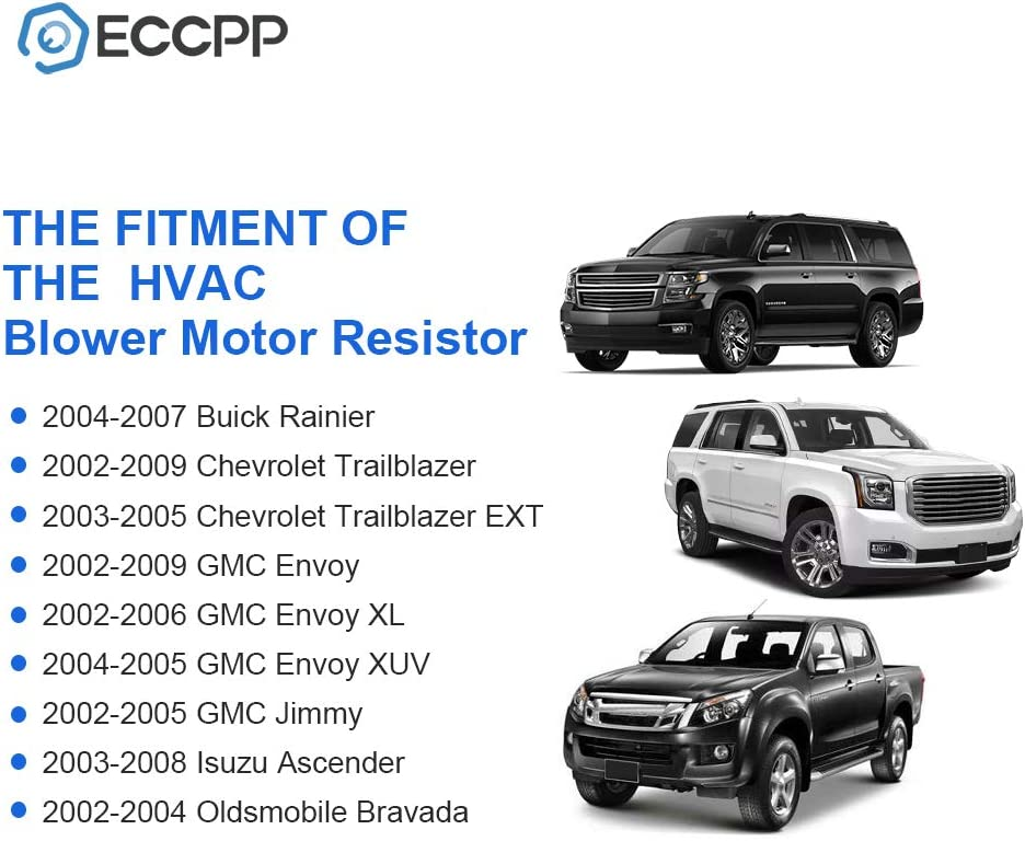 Auto Parts And Vehicles Car Truck Blower Motors Blower Motor Resistor New Olds Chevy Chevrolet Trailblazer Gmc Envoy Bravada Ext