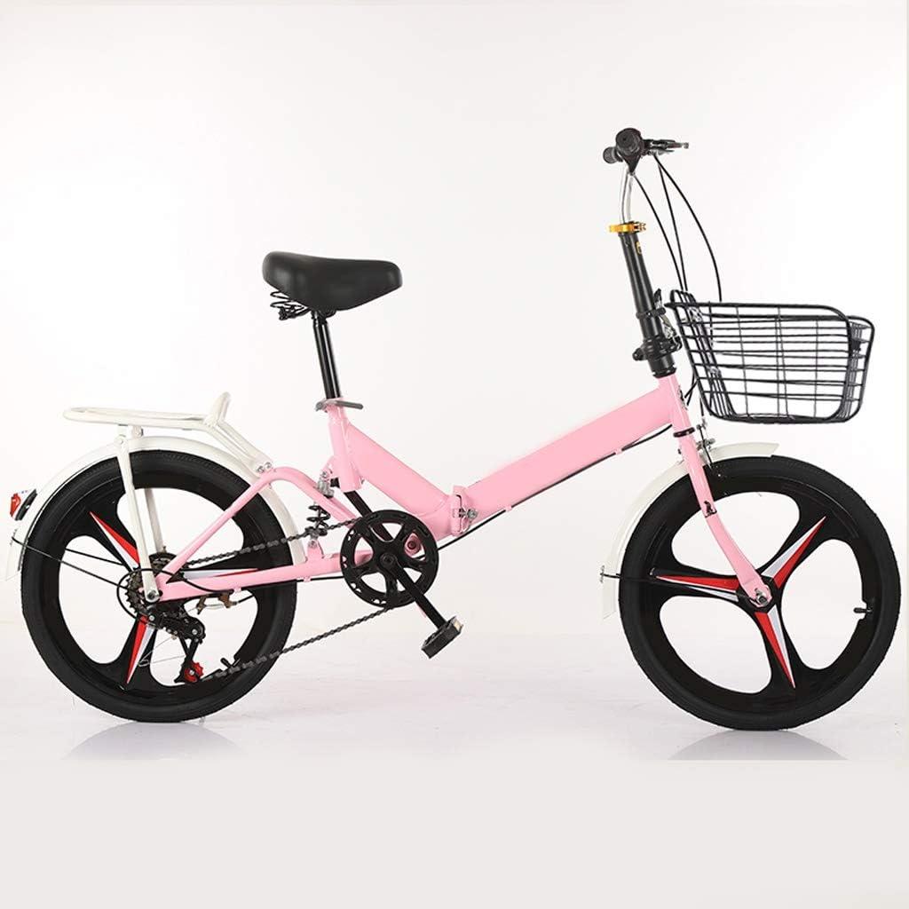 XYSQ Adultos De 16 Pulgadas Bicicletas Plegables, Bicicletas De ...