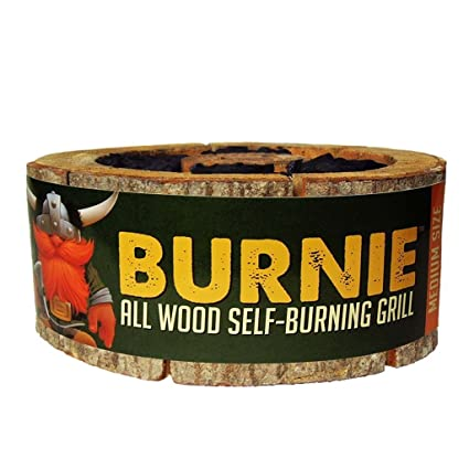 Amazon.com: Burnie parrilla: Todo madera self-burning Grill ...