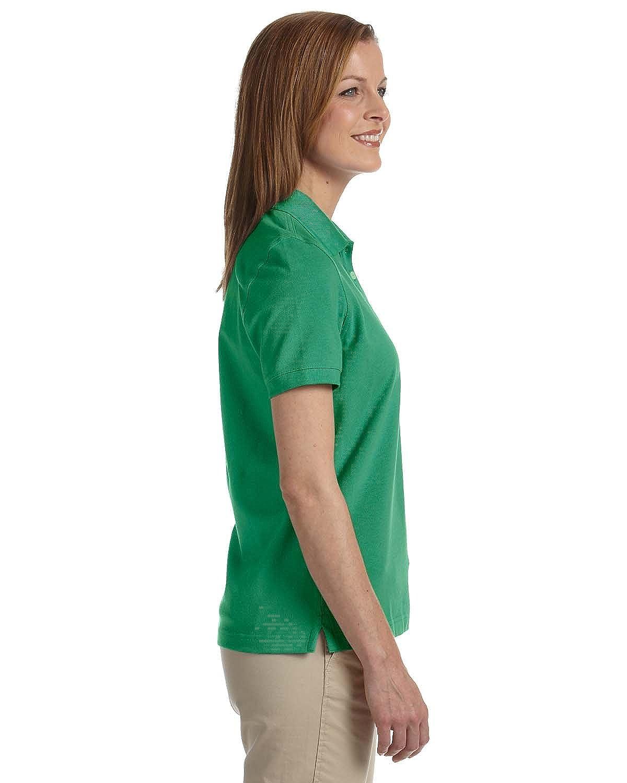 Womens Slim-cut Ashworth Classic Solid Pique Polo