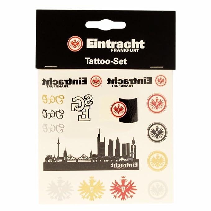 Eintracht Frankfurt Tattoo-Set 15 St/ück