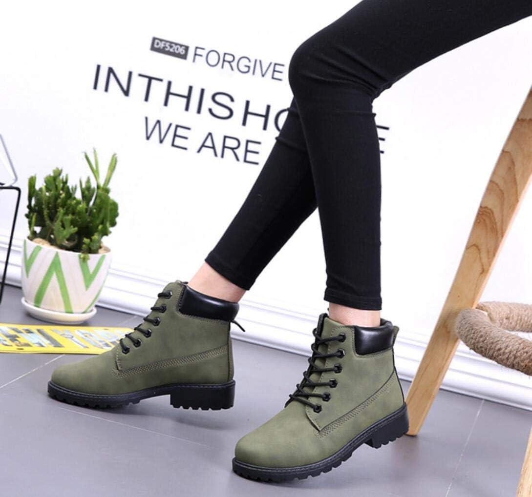 ZYLL 2020 Hot Winter Schnee-Aufladungen Frauen-Flache Ferse Stiefel Mode Warmhalte Boots Ankle Frauen Green