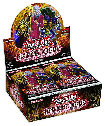 Yu-Gi-Oh! TCG: Legendary Duelists - Ancient Millennium Booster Display (Upgrade Booster Pack)