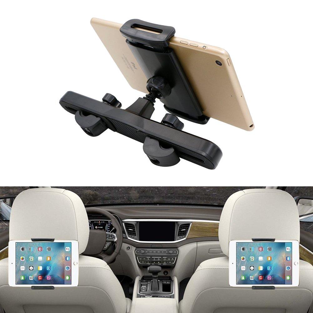 YZCX Supporto Tablet Poggiatesta Auto 360 Gradi di Rotazione Auto Sedili Posteriori Porta Tablet Universale per iPad 2/3/mini/air, Samsung Galaxy Tab e Altri Tablet 6-11 Pollice