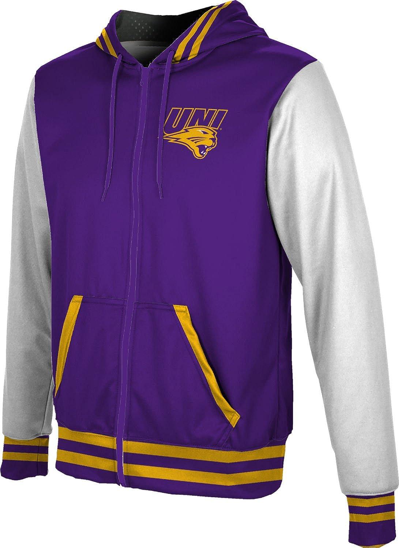 School Spirit Sweatshirt Game Time University of Northern Iowa Girls Zipper Hoodie