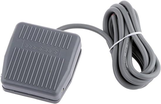 TFS-201 Interrupteur /à p/édale /électrique avec c/âble de 2 m 10 A 250 V AC