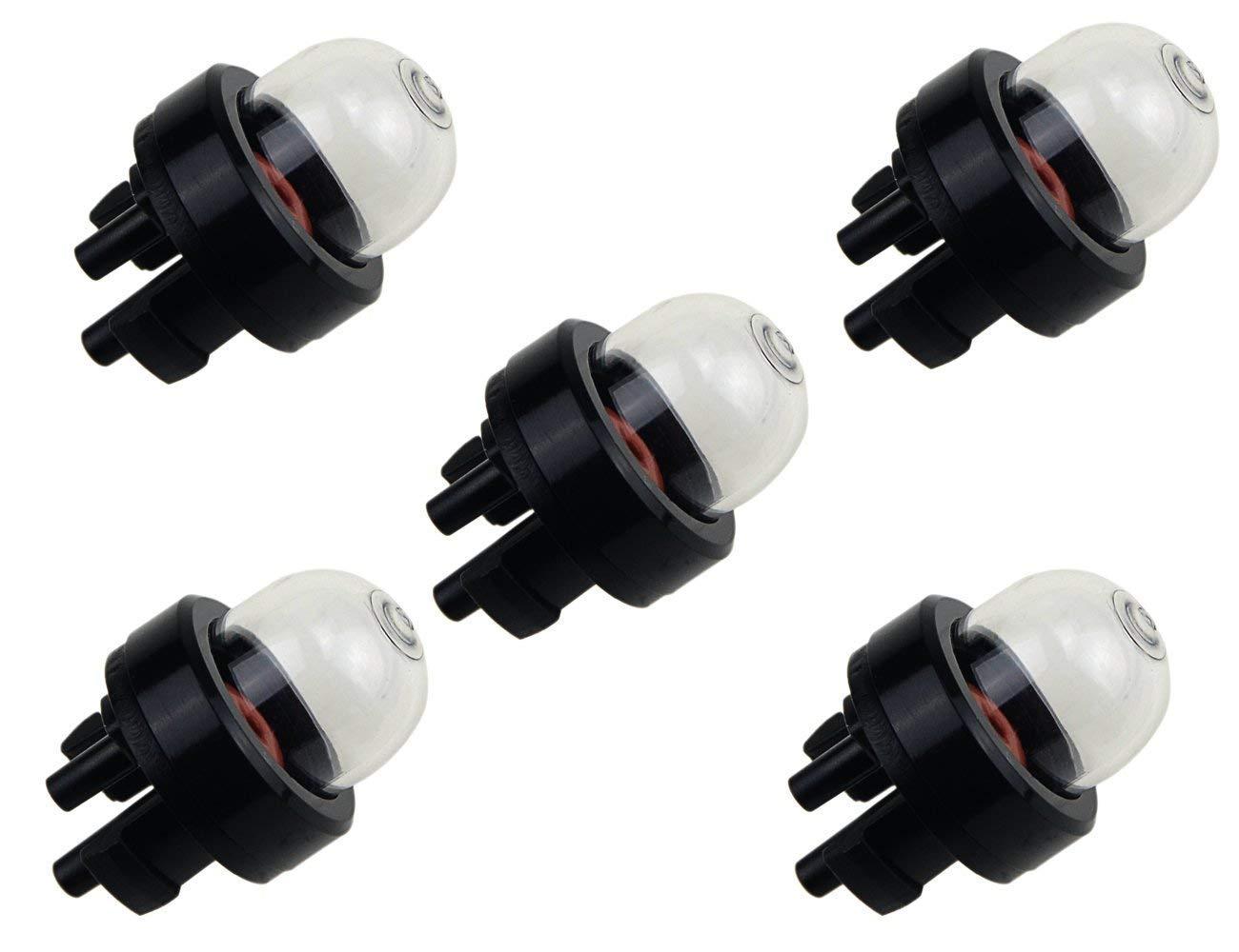 Queta Lot de 5 Pompes d'Amorçage Snap in poulan 530071835 530047213 carburateur premier bulb convient pour Walbro 188-513,188-513-1,188-518,188-518-1 - (3X2X2cm)