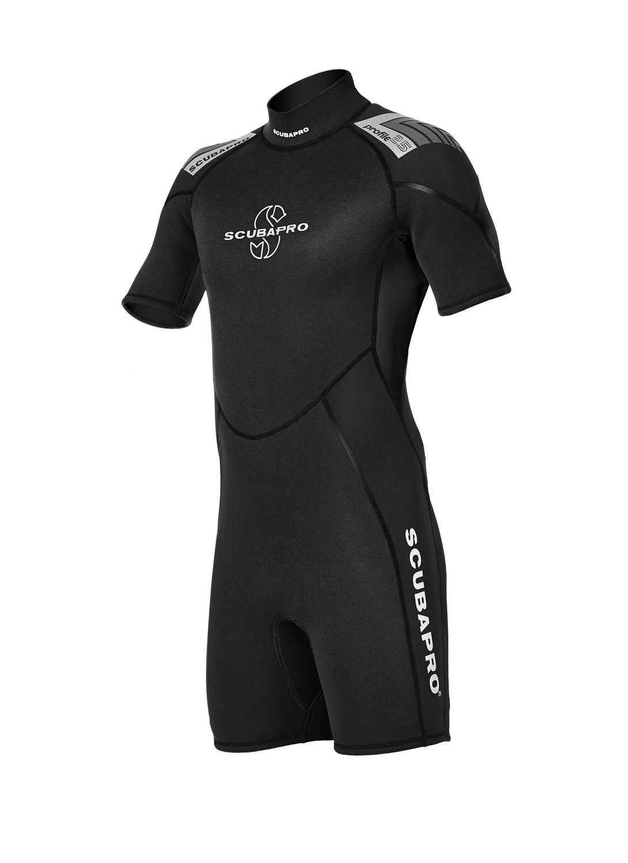 SCUBAPRO - Traje shorty para piscina 2,5mm, color negro ...
