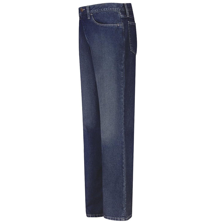 Bulwark Sanded Denim Straight Fit Jean, EXCEL FR, 12.5 oz., Sanded Wash, 3837U