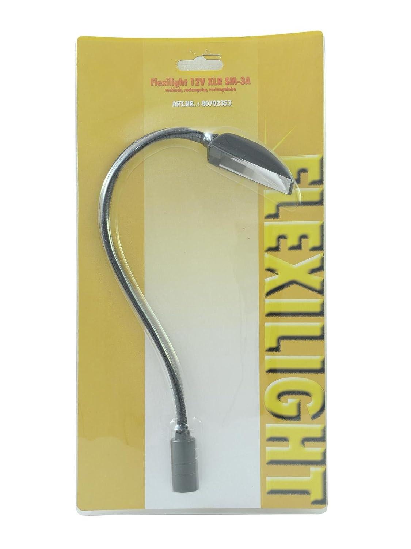 Lámpara cuello de cisne Flexilight XLR SM-3 bis EUROLITE 80702353 67462