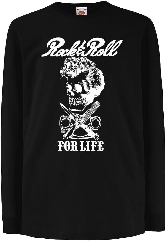 1970s lepni.me Camisetas sin Mangas para Mujer Rock and Roll For Life Banda de Rock Vintage Musicalmente 1980s 1960s Vestimenta de Concierto