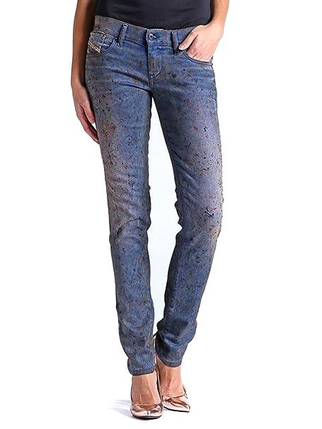 Amazon.com: Diesel 0821Z - Pantalones vaqueros para mujer ...