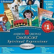 Amazon american greetings broderbund software american greetings spiritual expressions 7 jewel case m4hsunfo