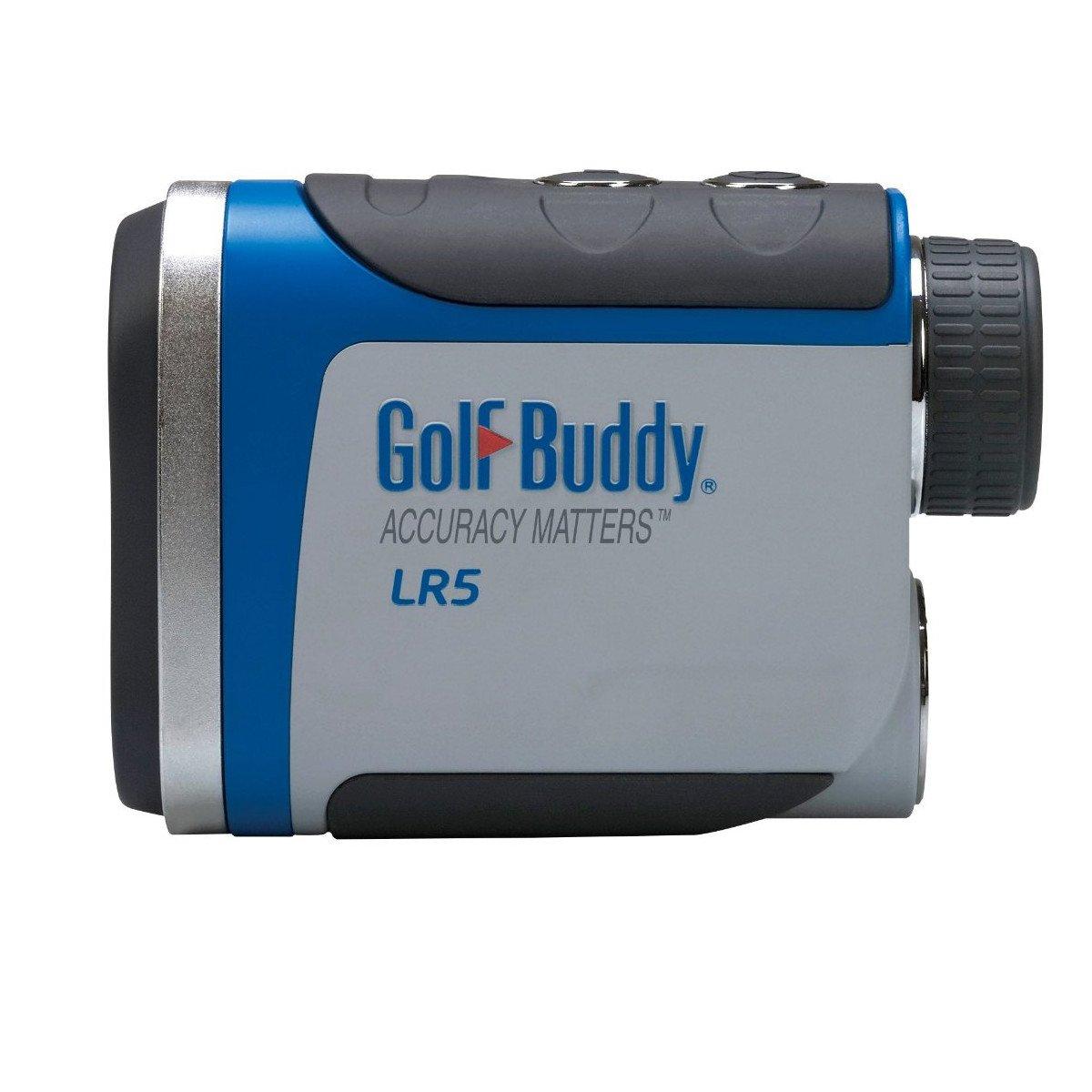 GolfBuddy LR5 Golf Laser Rangefinder, Light Gray/Blue
