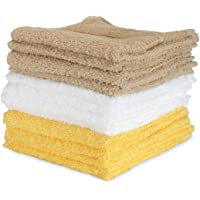 Bianca D`Ross Solid 12 Piece 380 GSM Cotton Face Towel Set
